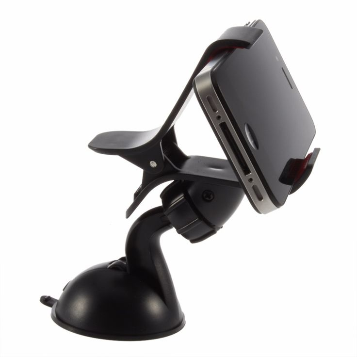 1PCS 360degree spin Car Windshield Mount cell mobile phone Holder Bracket stands for iPhone5 4S for samsung Smartphone GPS New #Affiliate