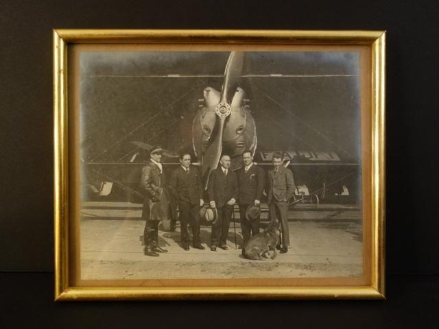 "SIGNED BY COSTE & CODOS BREGUET ""POINT D INTERROGATION"" 1929 Original Photograph"