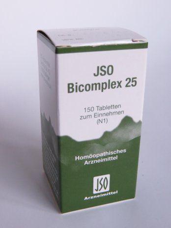JSO Bicomplex 25 - Schüßler-Salze des Wasserhaushalts