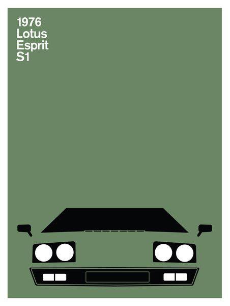 Print Collection - Lotus Esprit S1, 1976