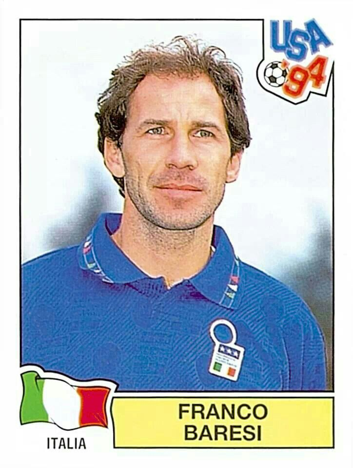 304 FRANCO BARESI - ITA - FIFA World Cup USA 1994
