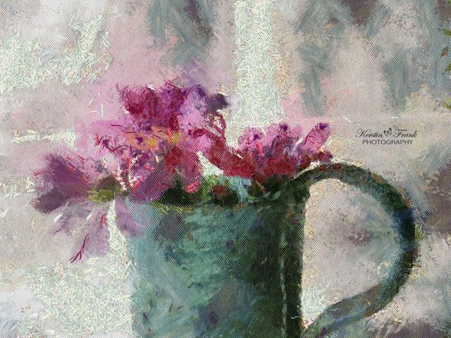 Flowers in a mug | Flickr - Photo Sharing!