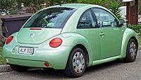 Volkswagen New Beetle coupe pre facelift