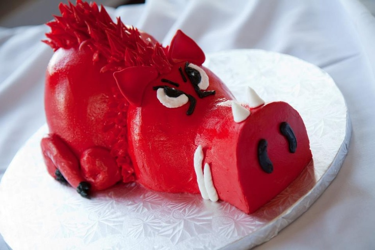 Razorback cake.  Natalie, this is your and Lynn's honor!