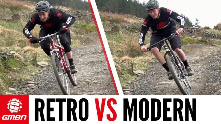 Retro Vs Modern – The Cross Country Mountain Bike Race - VIDEO - http://mountain-bike-review.net/mountain-bike-reviews/retro-vs-modern-the-cross-country-mountain-bike-race-video/ #mountainbike #mountain biking