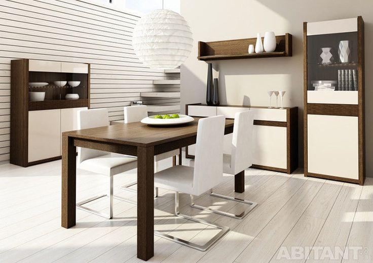 Современная столовая в квартире