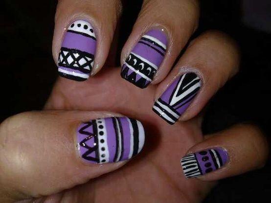 Aztec Nail Trend