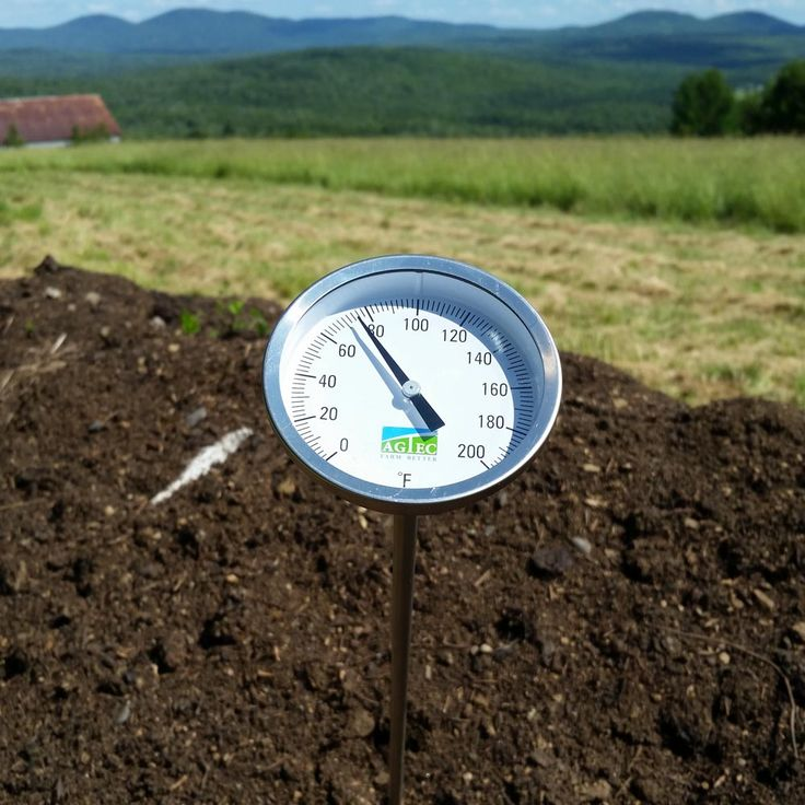 Compost Thermometers : Agtec Compost Thermometer with 60in Stem (0-200°F)