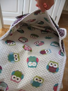 couture tuto cartable maternelle
