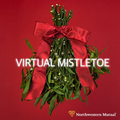 Share a cyber smooch with someone special today.  #VirtualMistletoe