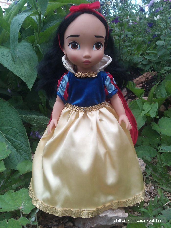 МК Шьем платье Белоснежки часть 2 / Мастер-классы, творческая мастерская: уроки, схемы, выкройки кукол, своими руками / Бэйбики. Куклы фото. Одежда для кукол