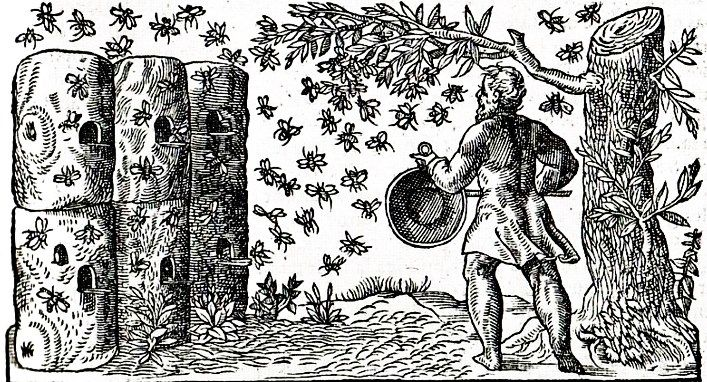 Early American Gardens: Garden History - Practical Structures - Beehive