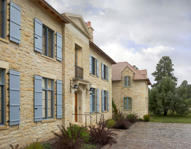 """Exterior walls are composed of hand-pitched Minnesota Limestone with concrete backup and are nearly 20"""" deep."""