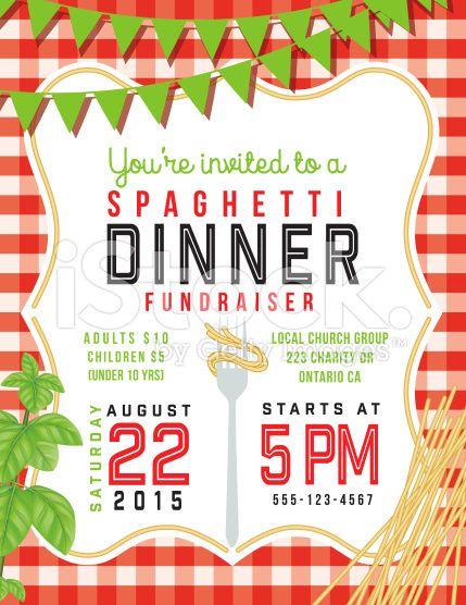 Community Dinner Clip Art Fundraising Event