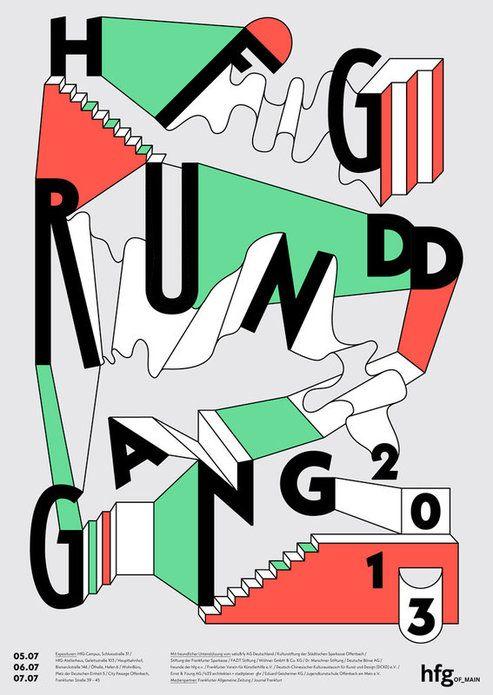 HfG Offenbach Rundgang | Slanted - Typo Weblog und Magazin