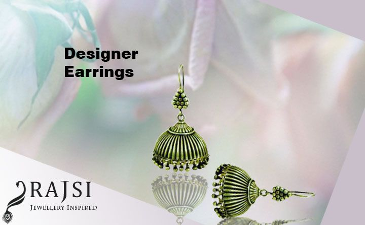 Long silver earrings online are the perfect blend of tradition and modernity with exclusive design done by artisans from Rajasthani Villages. https://goo.gl/HhSZLd