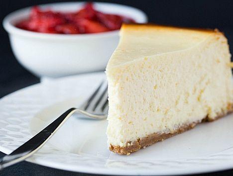 New York Style Cheesecake Recipe #NewYork #Style #Cheesecake #Recipe