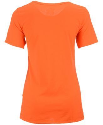 Nike Women's Oklahoma State Cowboys Arch Mid T-Shirt - Orange M