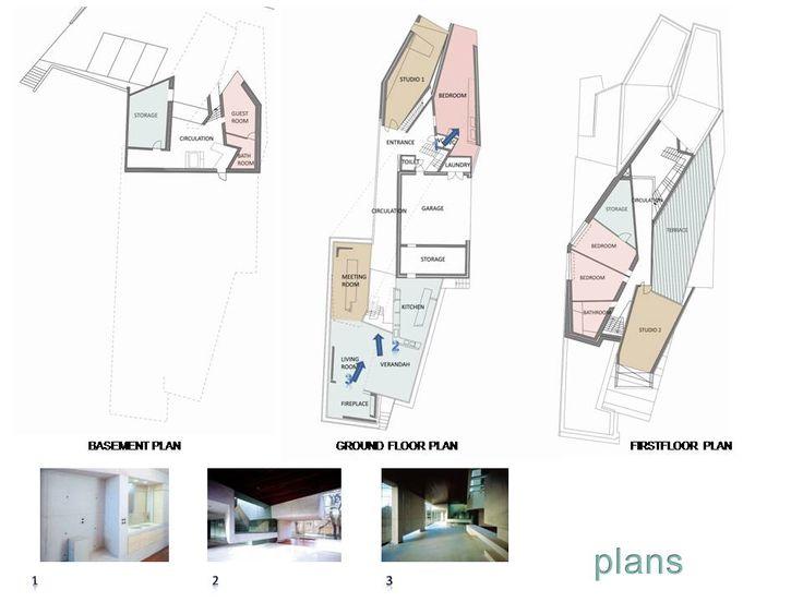 Mobius House floor plan