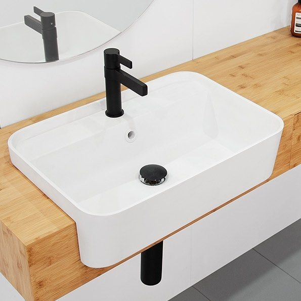 Want To Add Extra Space To Your Bathroom Why Not Consider A Semi Recessed Basin Like The Miya F Semi Recessed Basin Bathroom Design Small Bathroom Inspiration