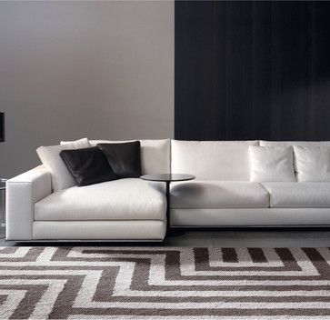 Minotti Hamilton Sectional Sofa modern sectional sofas