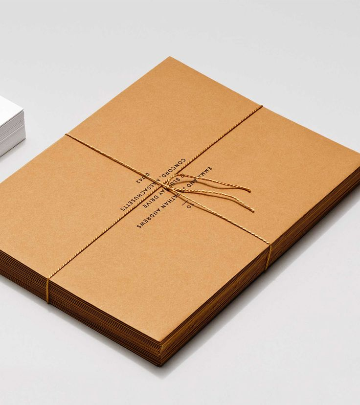 Ochre Envelopes / Venamour Invitation Suites