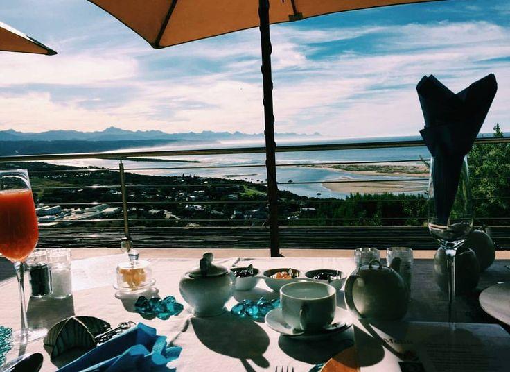 Our breakfast view in Plettenberg Bay