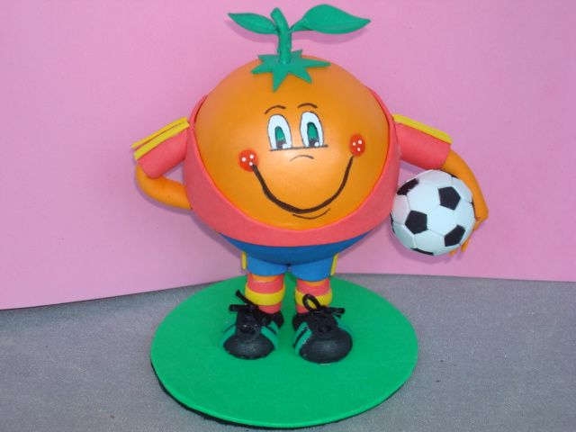 fofucho naranjito mundial 82