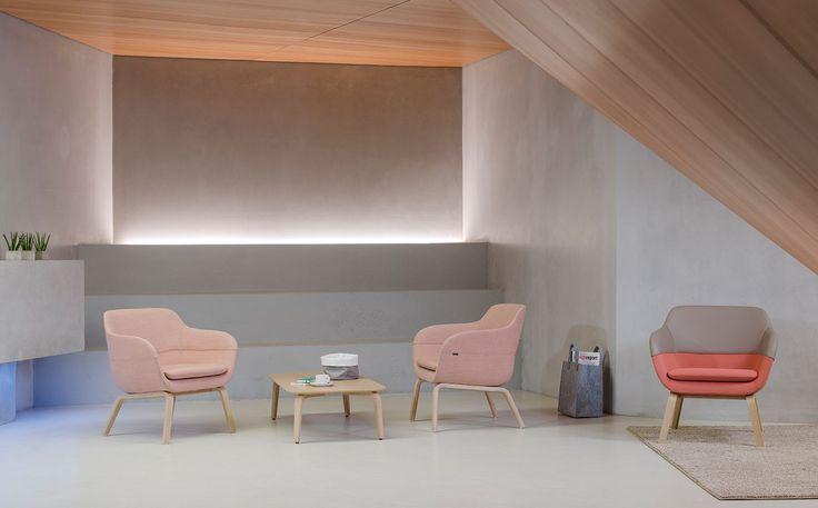 Zenith Interiors: Crona Lounge Chair - Wood