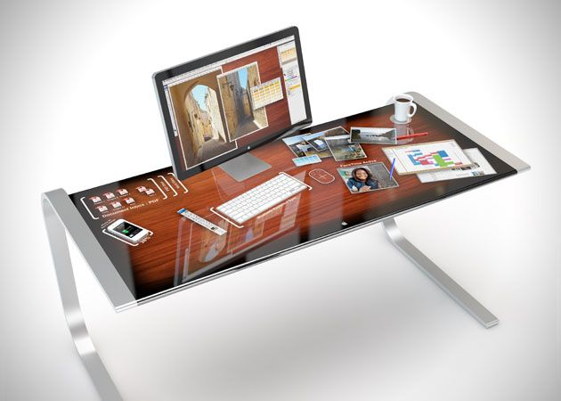Apple iDesk Is A Giant iPad For Your Workstation. I should of trademarked my idea.