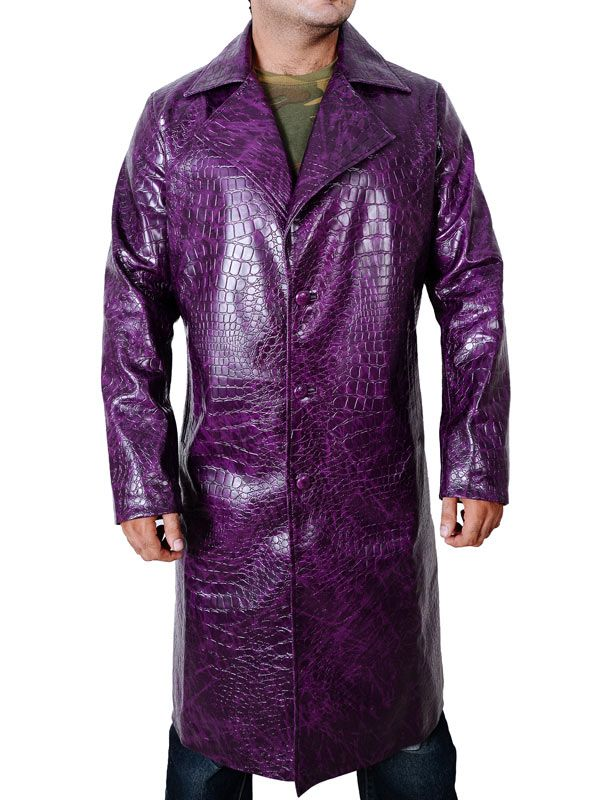 The #Joker Jacket is one of the petrifying purple body encapsulations, which is one the most over the top Jared Leto Coat attractions from the motion picture #SuicideSquad.