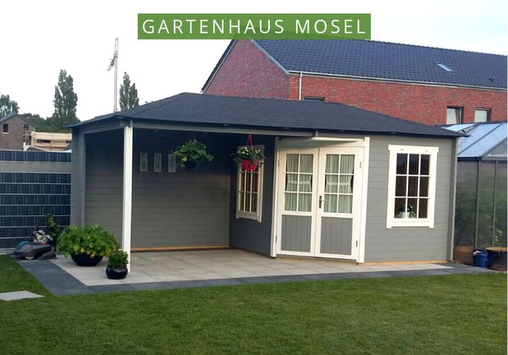 5 Eck Gartenhaus Mit Schleppdach in 2020 Home decor