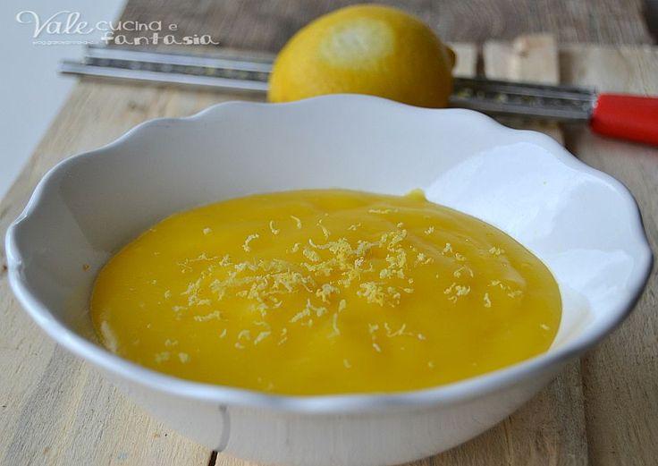 Crema al limone senza burro e latte ricetta facile buona delicata e profumata,ideale per farcire ogni tipo di dolce, facile ed economica
