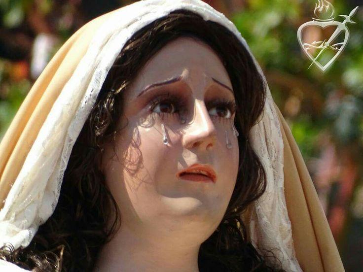 Virgen de Dolores del Nazareno del templo de  San Bartolome Quetzaltenango Guatemala