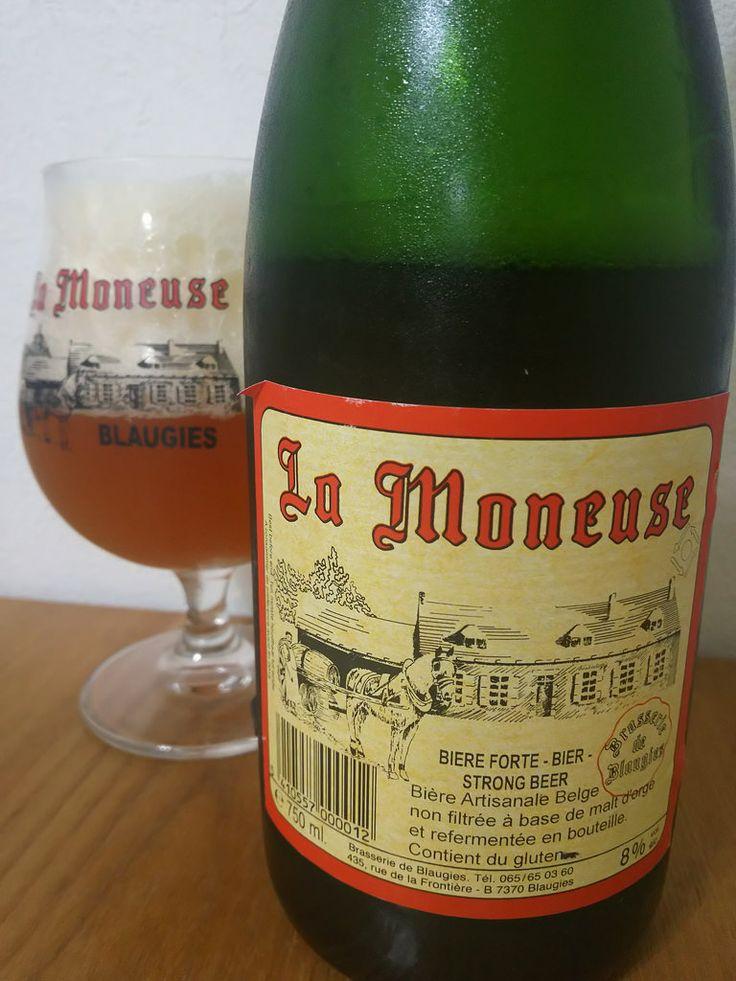 La Moneuse La Moneuse Alc.80%Vol. e75cl Brasserie de Blaugies Rue de la Frontière 435 B-7370 Dour-Blaugies http://ift.tt/135CSlx