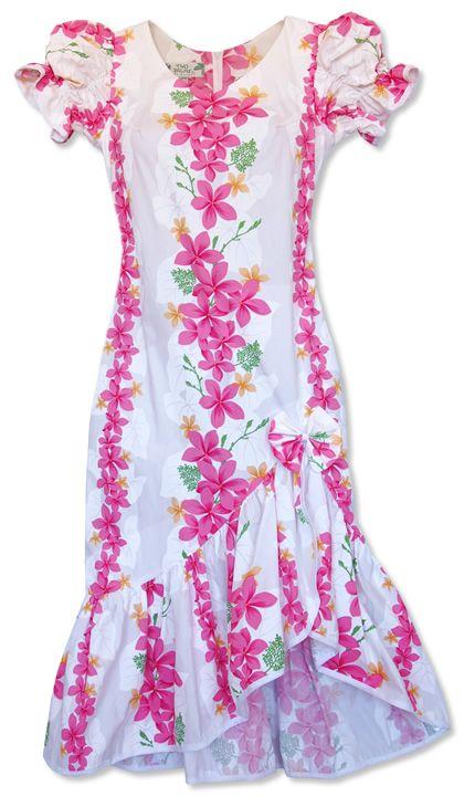 8 best dresses hawaiian fashion images on pinterest for Hawaiian wedding dresses with sleeves