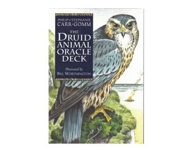The Druid Animal - The Druids thought of animals as sacred guides and protectors.  This card deck combines their powers with the teachings and methods of the Druids to provide a deck that draws on animals intuitive knowledge to give readings of divine intuition.