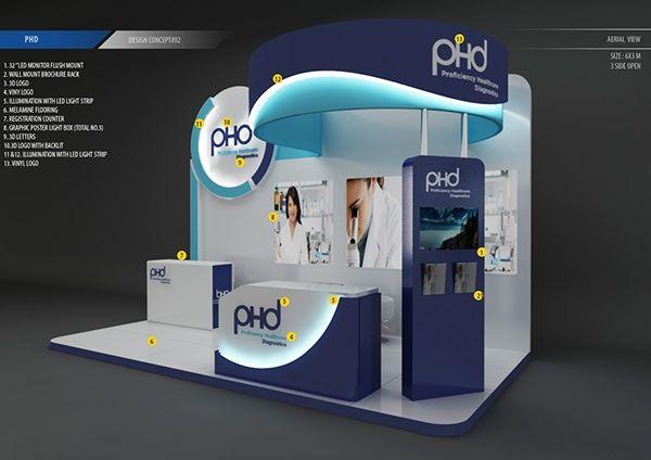 PHD concept for Arab Health