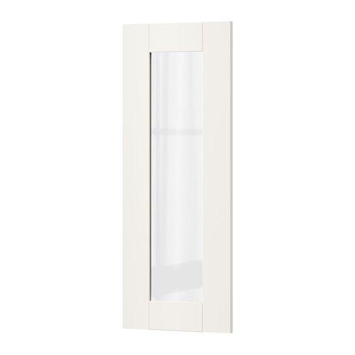 SÄVEDAL Puerta de vidrio - 30x80 cm - IKEA
