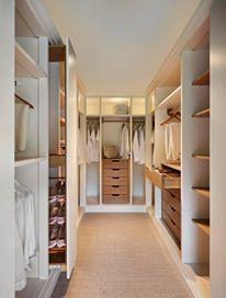 Like: Walk in wardrobe in master bedroom