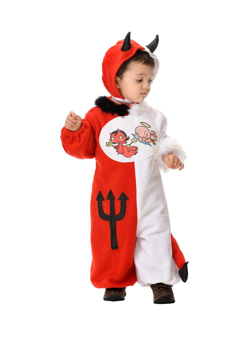 traje de angel demonio para beb