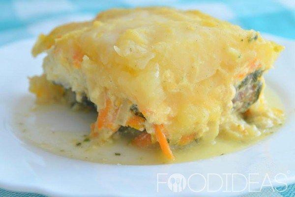 Рыба с картофелем в духовке | Застолье-онлайн