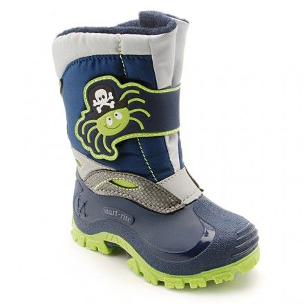 Spider Snow, Navy Blue/Lime Green Boys Riptape Boys Boots - Boots - Boys Shoes http://www.startriteshoes.com/boys-shoes/boots/spider-snow-navy-blue-boys-riptape-boots