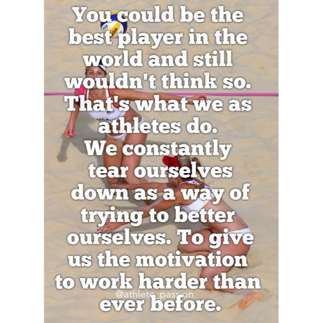 128 Best Images About Volleyball Quotes On Pinterest