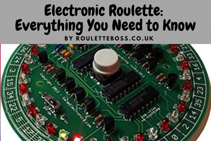 Electronic Roulette Strategy