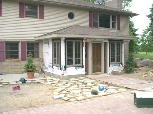 Front Entry Addition Split Level Ideas Pinterest