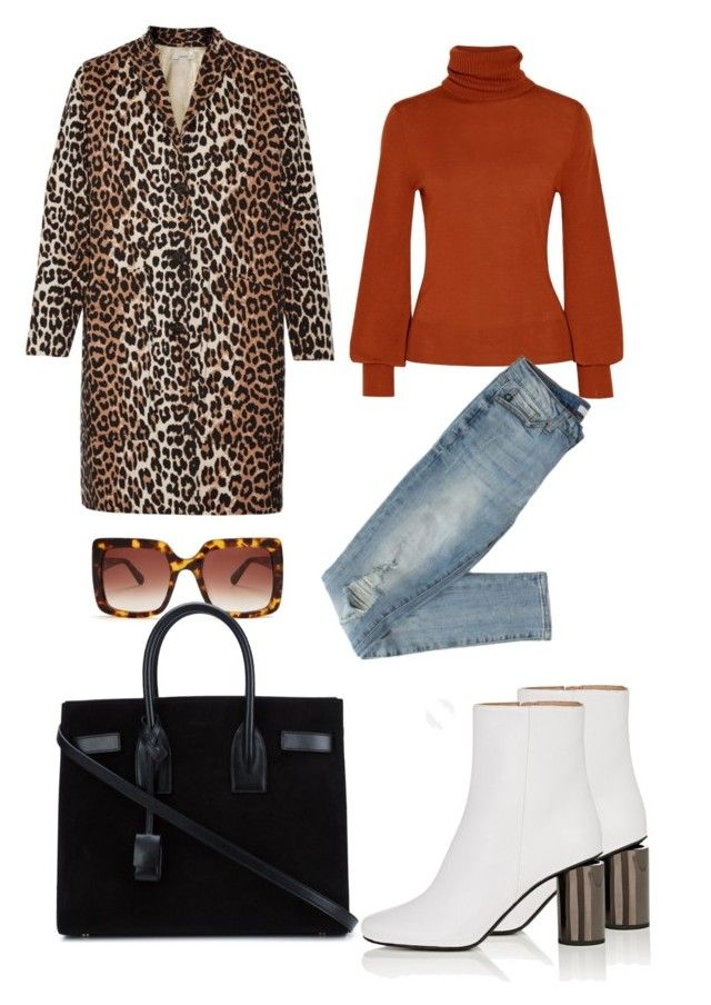 Untitled #675 by cathatin on Polyvore featuring polyvore, fashion, style, Chloé, Ganni, Acne Studios, Yves Saint Laurent, STELLA McCARTNEY and clothing