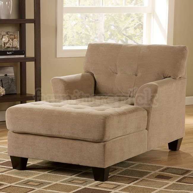 Encore   Grain Tufted Chaise With Flared Arms And Tapered Wood Feet By  Ashley Furniture   Becku0027s Furniture   Chaise Sacramento, Rancho Cordova,  Roseville, ...
