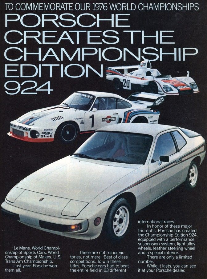 Porsche 924 #porsche #posters