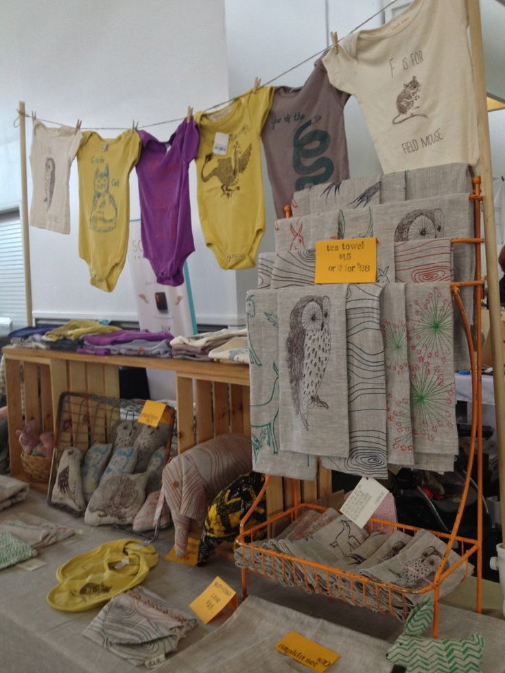Ten Tips for Craft Fair Booth Design
